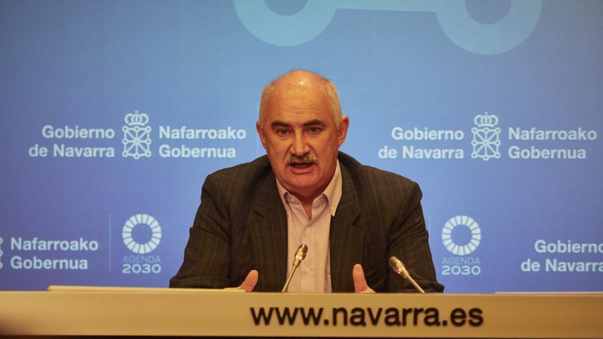 El vicepresidente segundo y consejero de Ordenación del Territorio, Vivienda, Paisaje y Proyectos Estratégicos del Gobierno de Navarra, José María Aierdi