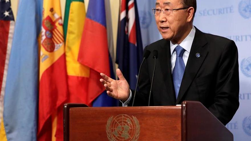 Ban Ki-moon apoya los esfuerzos de diálogo en Venezuela