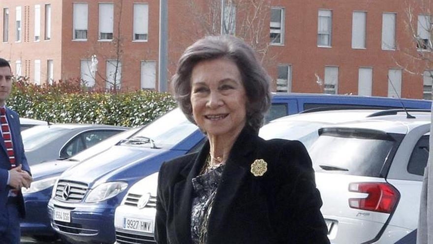 La reina Sofía respalda el primer seminario sobre genética de demencias