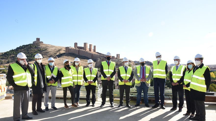 Las obras del parador de Molina de Aragón estarán terminadas en 2021 y su apertura se prevé para 2022