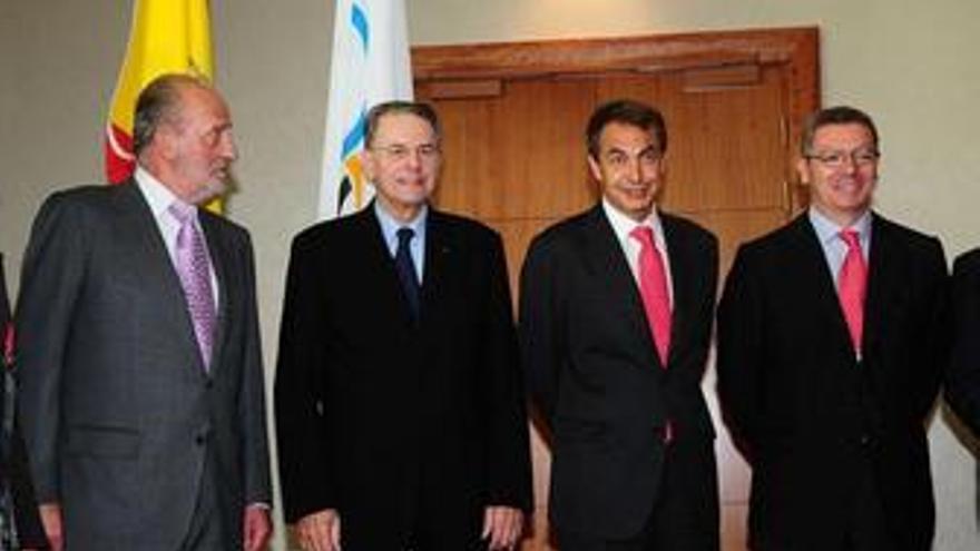 """Zapatero, """"más animado que ayer"""" sobre las posibilidades de Madrid"""
