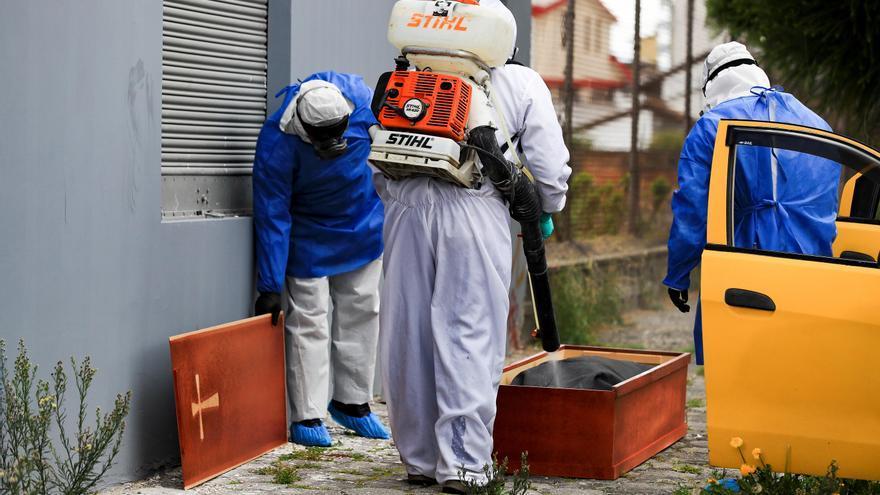 Ecuador registra 71.365 contagios por COVID-19, más de mil nuevos en 24 horas