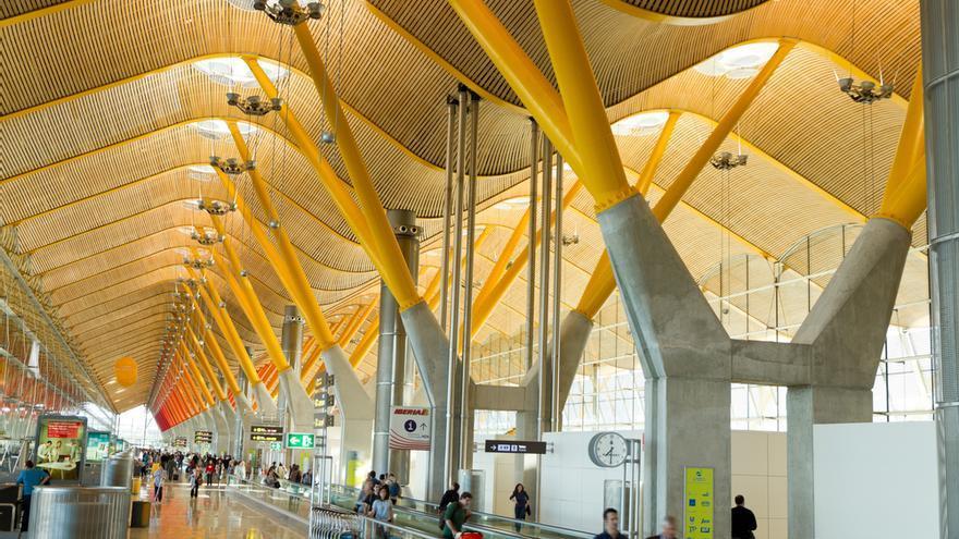 Vista general de la terminal T4 del aeropuerto Adolfo Suárez Madrid-Barajas. Foto: Iberia.