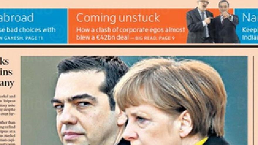Merkel y Tsipras 2