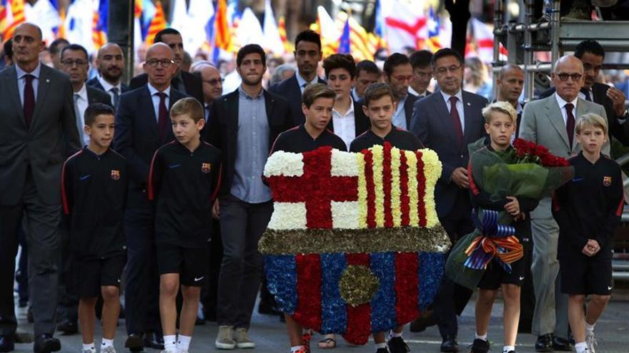 """El Barça, sobre la independencia: """"Jugaremos donde jueguen Espanyol y Girona"""""""