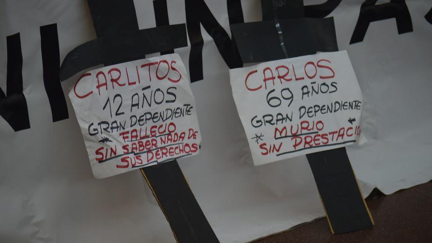 Cruces por dependientes fallecidos en Castilla-La Mancha / Foto: Javier Robla