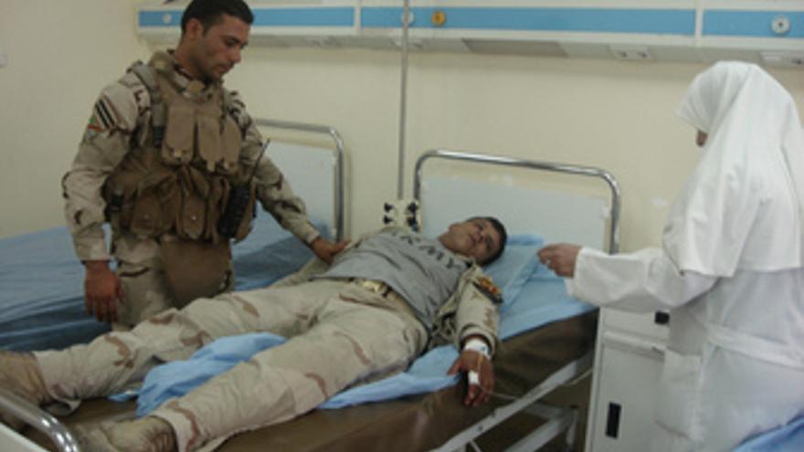 Al menos 39 muertos en un centro de reclutamiento en Bagdad