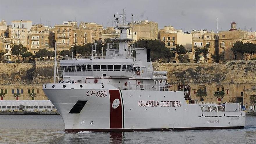 La Guardia Costera italiana rescata a 78 personas en las costas griegas