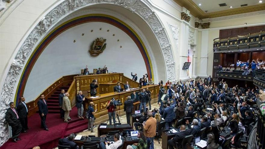 El Parlamento venezolano aprueba rechazar el plan de Maduro para combatir el crimen