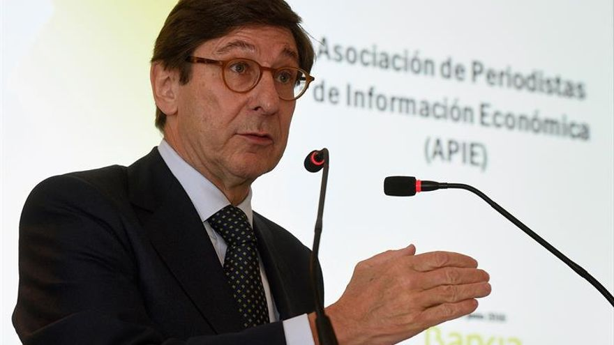 Bankia gana 481 millones de euros hasta junio, un 13,4 % menos