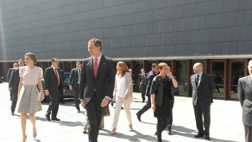 """El Rey llama a los arquitectos a ser """"verdaderos agentes de cambio social"""" contra el cambio climático"""