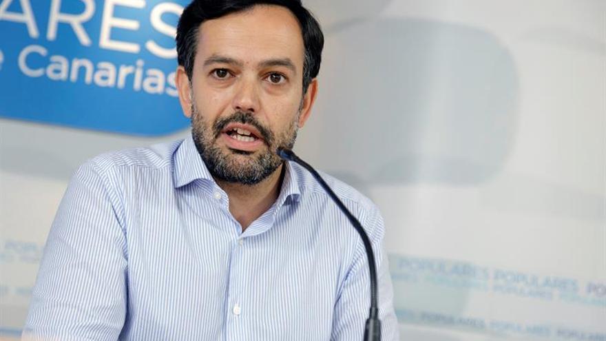Renuncia el coordinador del PP canario tras ser inhabilitado por prevaricar