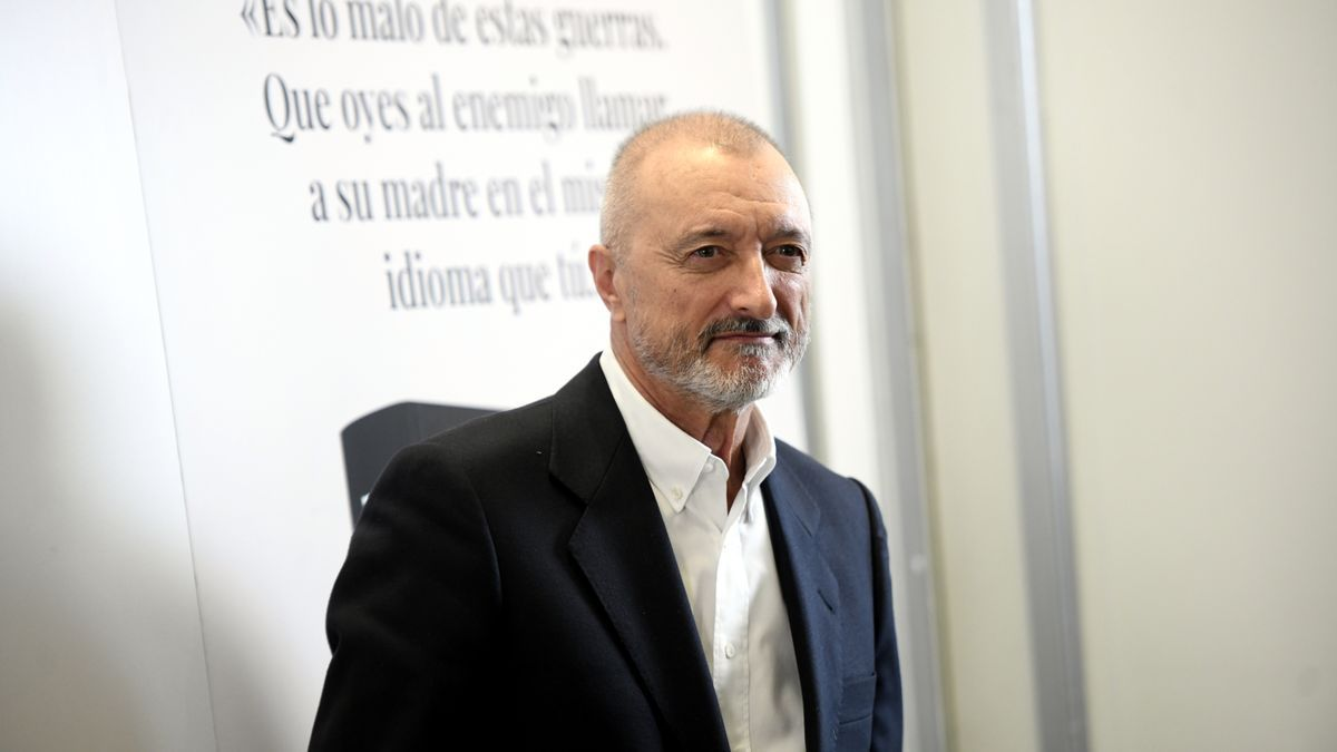 El escritor Arturo Pérez-Reverte en una imagen de archivo.