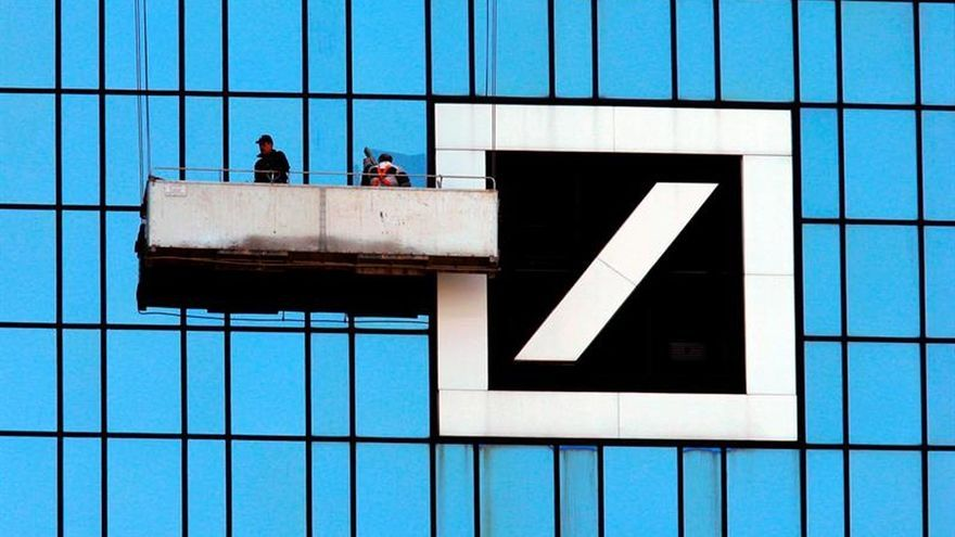 Las acciones del Deutsche Bank se disparan tras el arreglo con la Justicia de EEUU
