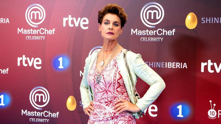 Antonia Dell'Atte, en la presentación de MasterChef Celebrity