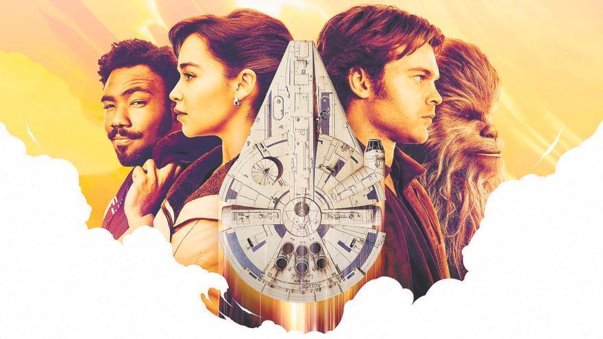 Póster de 'Han Solo: una historia de Star Wars'