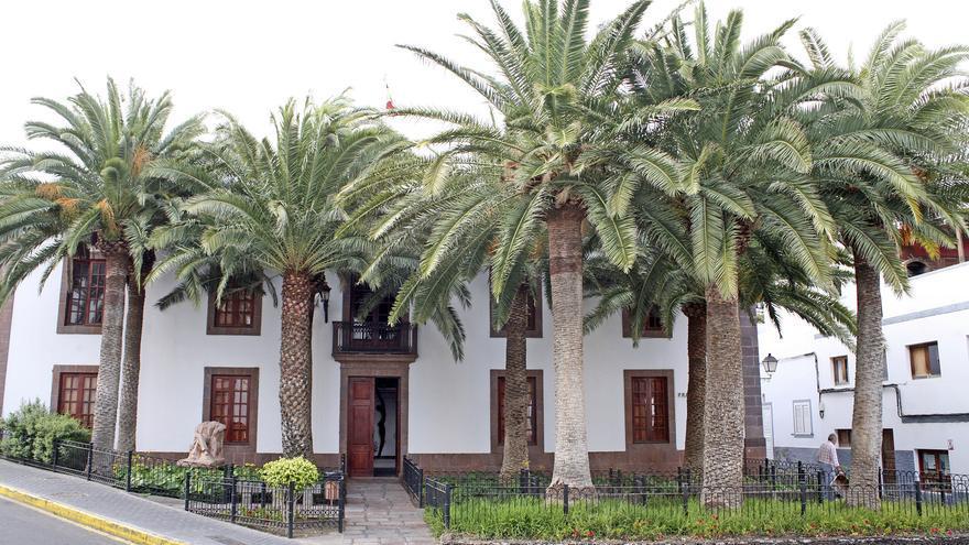 Ayuntamiento de Agaete. Foto: Alejandro Ramos