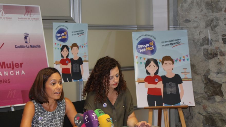 Presentación en Toledo de la campaña 'Sin un sí, es no' del Instituto de la Mujer