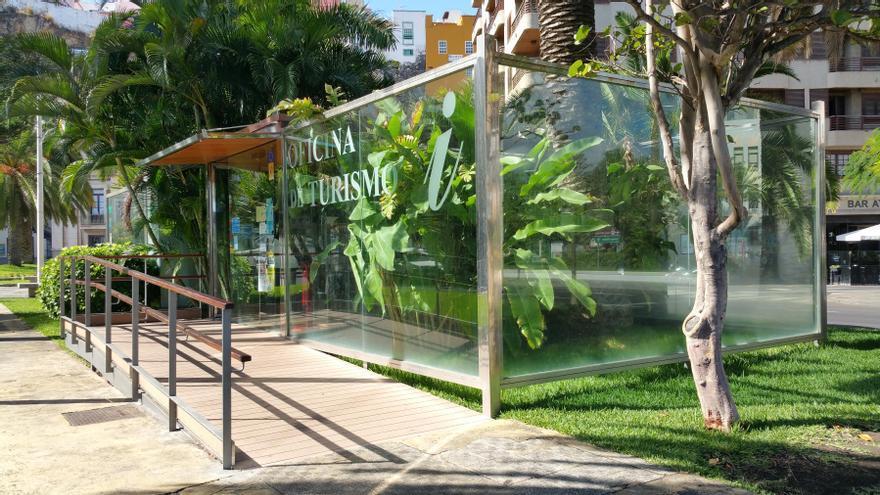 Oficina de Información Turística de la Casita de Cristal, en Santa Cruz de La Palma,