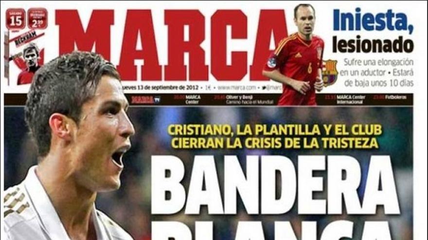 De las portadas del día (13/09/2012) #13