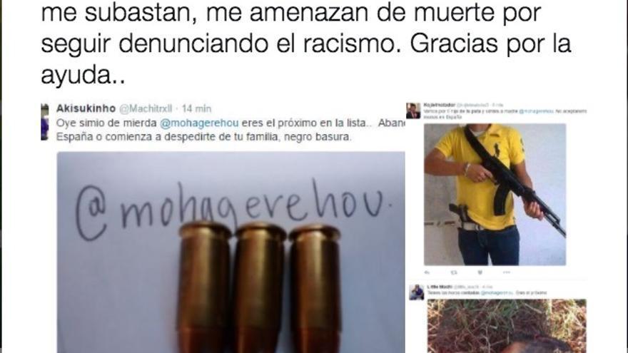 Amenazas de muerte al presidente de SOS Racismo Madrid.