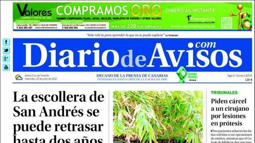 De las portadas del día (20/06/2012) #3