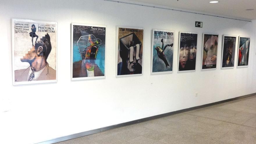 Filmoteca de Navarra inaugura una muestra de carteles procedentes de la escuela polaca de los años 1940 a 1960
