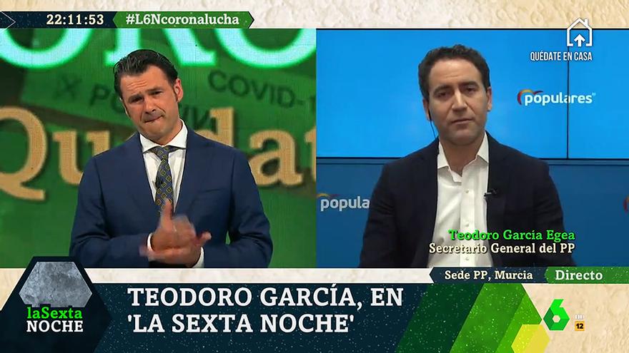 """Iñaki López explica que no mandó cortar a Teodoro García Egea y responde al PP: """"Bulos no, por favor"""""""