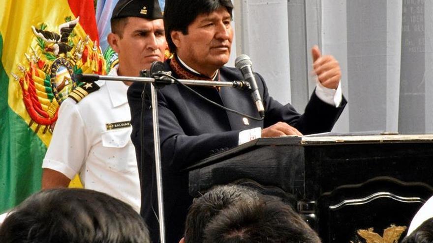 Morales destaca que primera planta petroquímica es fruto de nacionalización