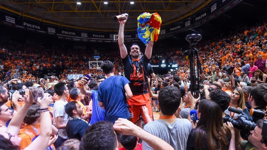 València Basket agraix el suport a la seua Afició.