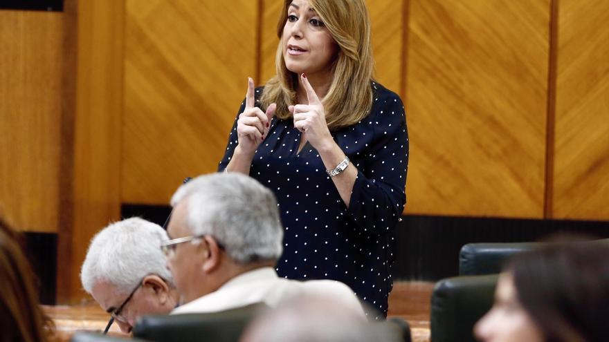 """Susana Díaz asegura que Andalucía cerrará el año con un """"altísimo"""" grado de ejecución presupuestaria en obra pública"""