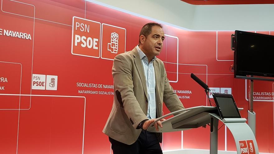 """Alzórriz dice que la sentencia sobre el decreto del euskera """"corrobora la postura del PSN, que lo veía discriminatorio"""""""