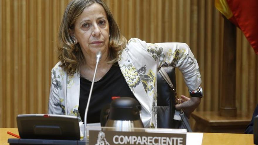 La extesorera del PP Carmen Navarro.