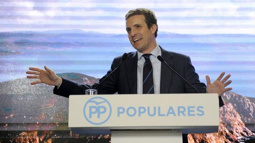 Casado presenta este viernes a los candidatos del PP en La Rioja y hace un balance político del año