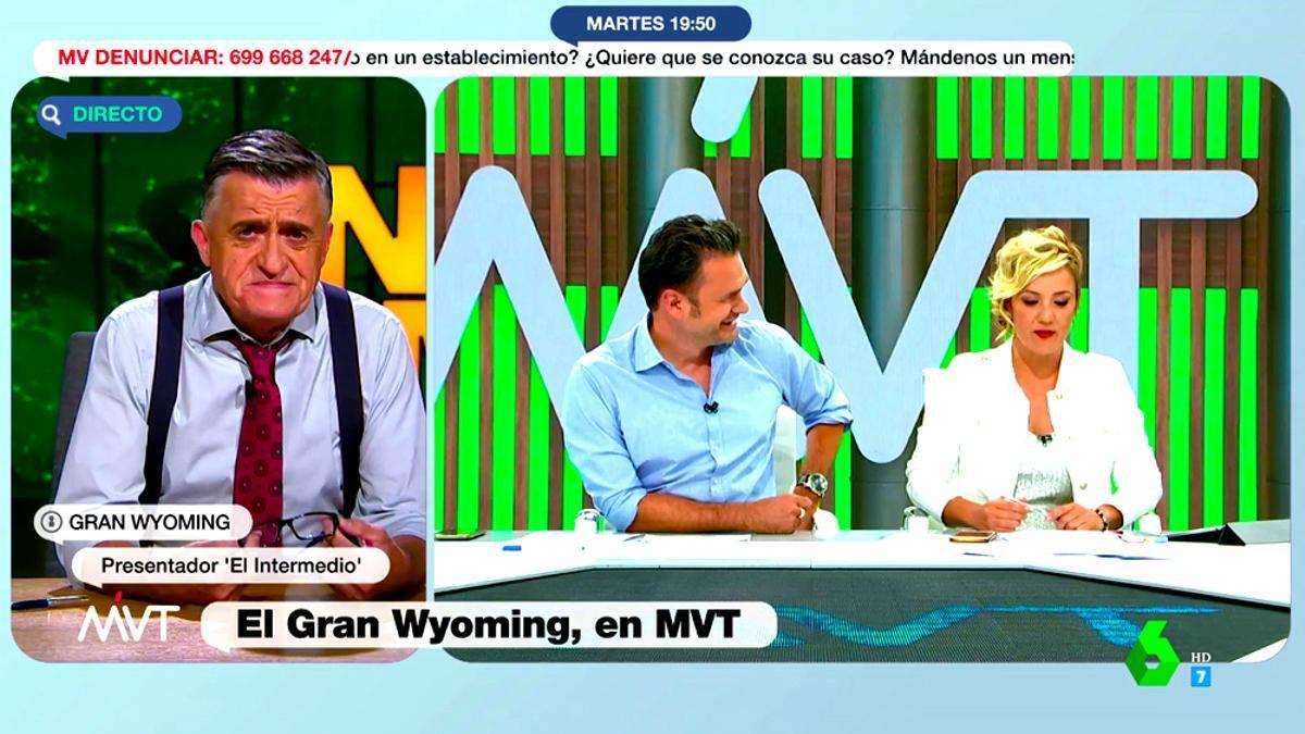 El Gran Wyoming, entrevistado en 'Más vale tarde'