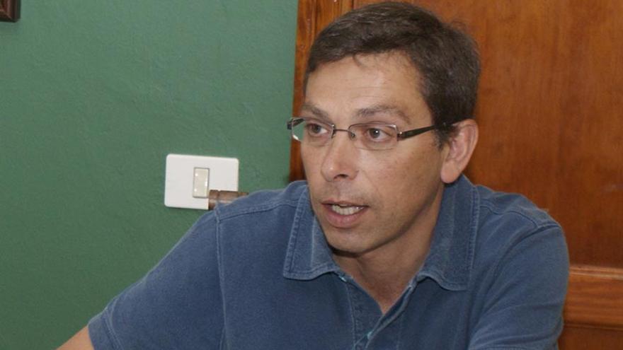 El alcalde de Valsequillo, Francisco Atta.