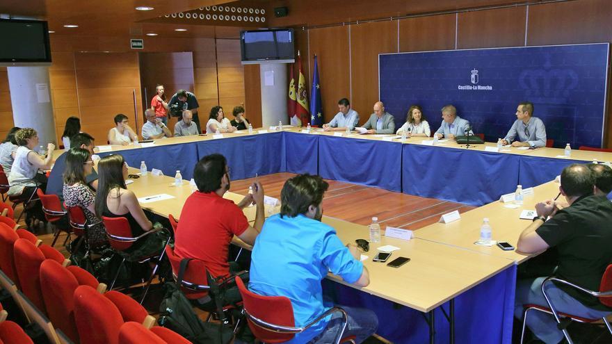Reunión Red europea de pobreza con Bienestar Social
