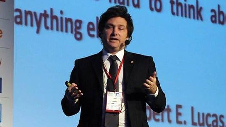 El economista Javier Milei