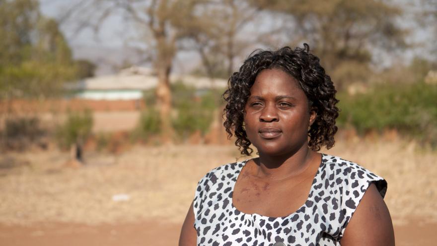 Tiwonge Gondwe es una de las mujeres que viven en Malawi y luchan contra la discriminación. Arjen van de Merwe/ActionAid