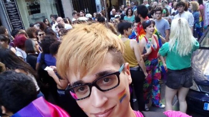 Álvaro, uno de los denunciantes / Foto cedida