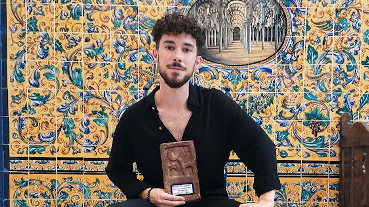 El guitarrista cordobés Nicolás Díaz.
