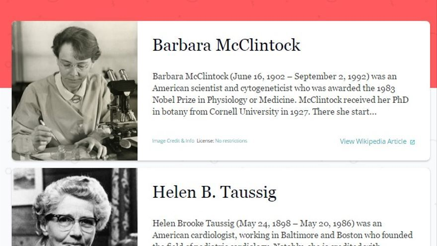 Propone crear tu propia 'wiki playlist' con mujeres científicas