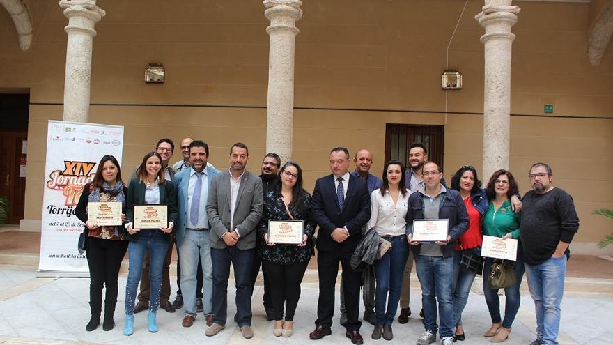 Participantes en la Jornada de la Tapa de Torrijos