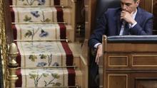 Pedro Sánchez durante la sesión investidura.