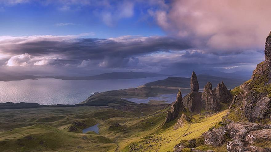 The Old Man of Stor, en Skye Island. John Mcsporran