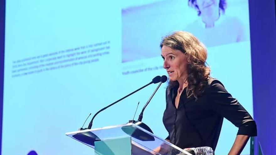La nueva portavoz municipal de València en Comú, María Oliver