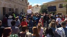 Stop Macrogranjas prepara una manifestación en Talavera durante el Día de la Región