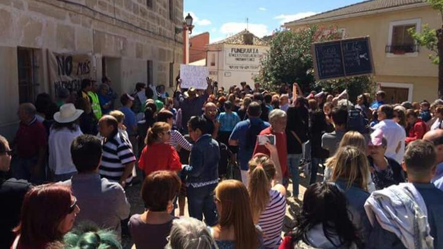 FOTO: 'Stop Macrogranjas Pueblos Vivos'