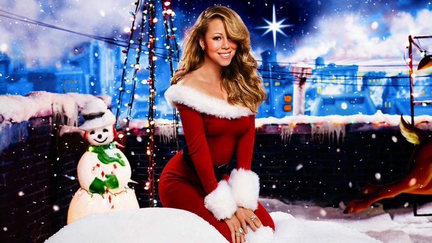 villancico con el que Mariah Carey