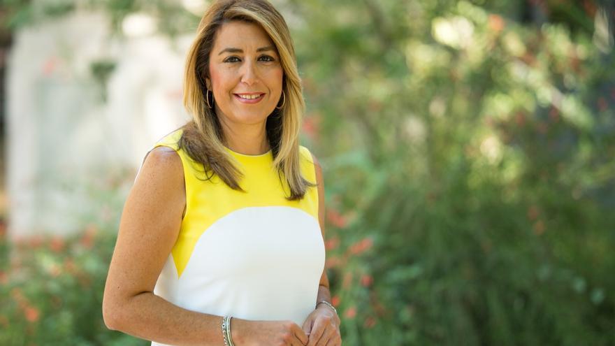 """Susana Díaz espera que """"cuanto antes"""" la Hermandad dé """"los pasos necesarios"""" para sacar a Queipo de la Macarena"""